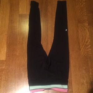 Reversible running pants